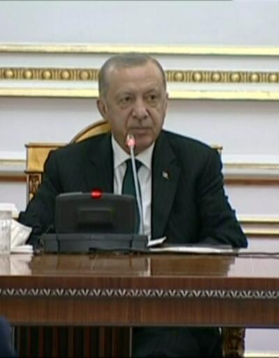 Cumhurbaşkanı Erdoğan ve Lourenço'dan ortak basın toplantısı