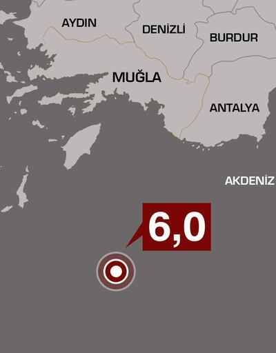 Son dakika... Antalya ve çevresinde de hissedildi: Akdeniz'de korkutan deprem