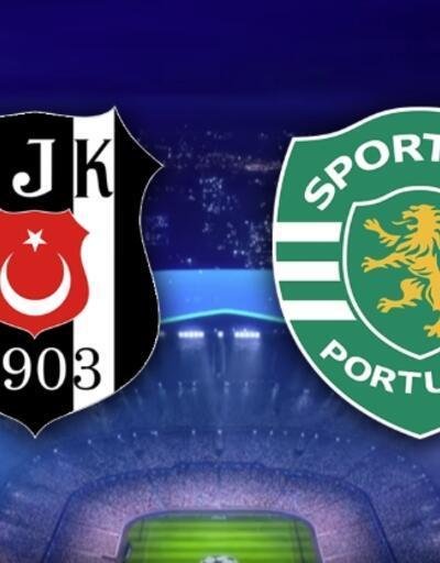 Beşiktaş Sporting Lizbon CANLI YAYIN