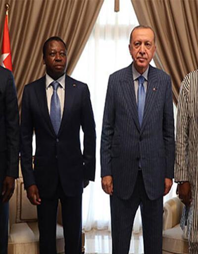 Togo'da Erdoğan'dan önemli görüşme