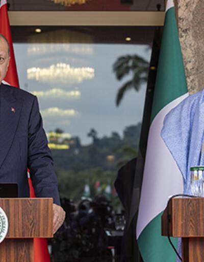 Türkiye ile Nijerya arasında 7 anlaşma imzalandı... Cumhurbaşkanı Erdoğan'dan önemli açıklamalar