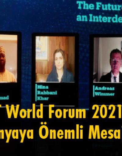 """TRT World Forum 2021""""Türkiye'de Üretilen İçerik Dünyaya Yayılıyor"""""""