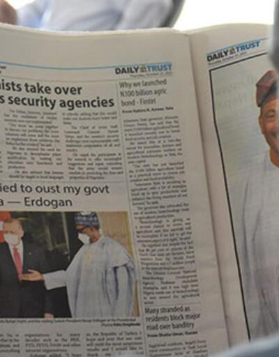 Nijerya basınında Erdoğan'ın ziyaretine yakın takip