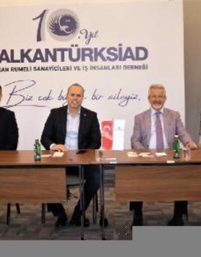 Nilüfer Belediye Başkanı Erdem, BALKANTÜRKSİAD üyeleriyle buluştu