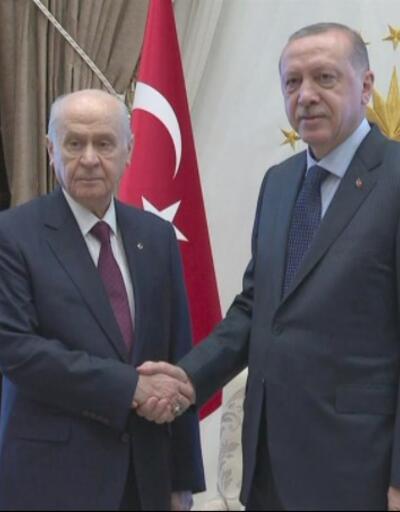 Erdoğan - Bahçeli görüşmesinde hangi başlıklar ele alınacak
