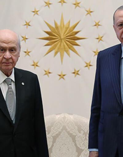 SON DAKİKA: Cumhurbaşkanı Erdoğan ile Bahçeli'nin görüşmesi başladı