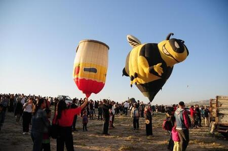 Kapadokya Da Balon Festivali Sona Erdi Nevsehir Haber