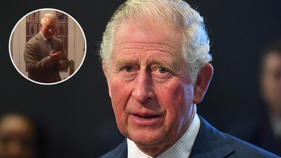 Koronavirüs teşhisi konulan Prens Charles'tan ilk görüntü