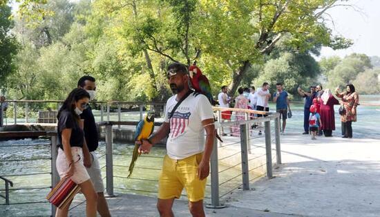 Dünyaca ünlü Manavgat Şelalesi, bayram için hazır