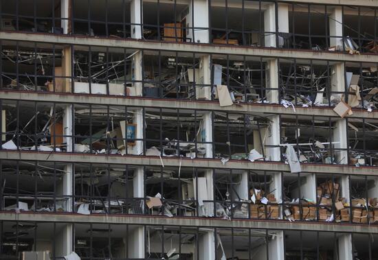 Reuters bu karelerle servis etti: İşte korkunç patlamanın ardından Beyrut