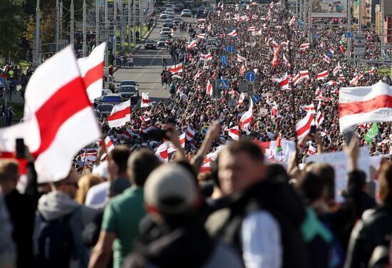 Belarus'taki protestolar sürüyor: Gözaltı sayısı 774'e ulaştı