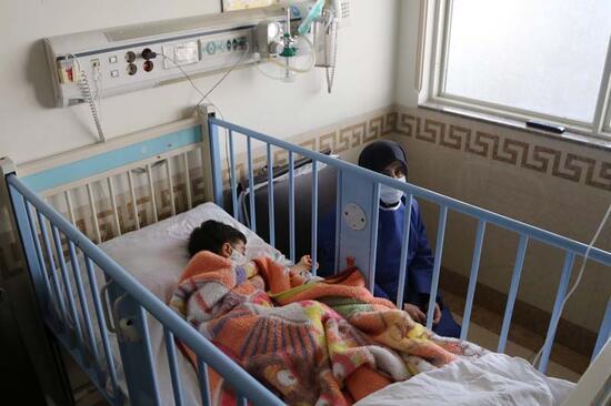 Son dakika... Sayı her geçen gün artıyor: Koronavirüs hastası çocuklar görüntülendi