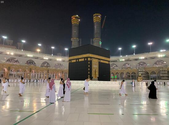 Suudi Arabistan'da umre ziyaretleri 6 ay sonra yeniden başladı