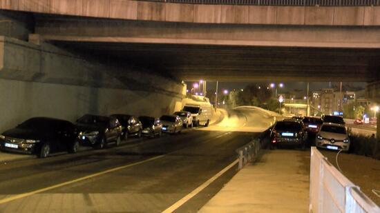 İstanbul'da dolu önlemleri: Köprü ve viyadük altlarını otoparka çevirdiler