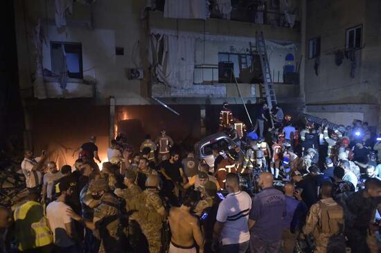Yine Beyrut yine patlama!