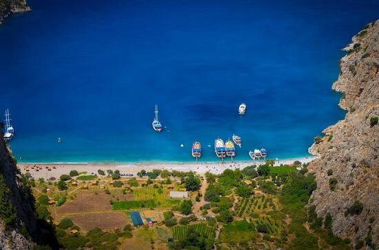 Doğallığı bozulmamış Türkiye'nin cennet köşesi... Zaman burada adeta durmuş gibi