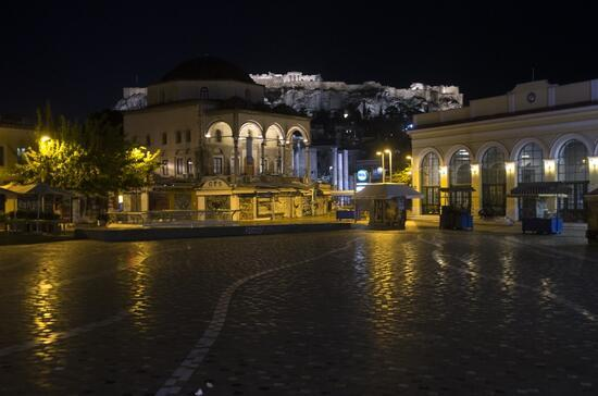 Vakalar arttı, önlemler geri geldi: Yunanistan'da sokağa çıkma yasağı