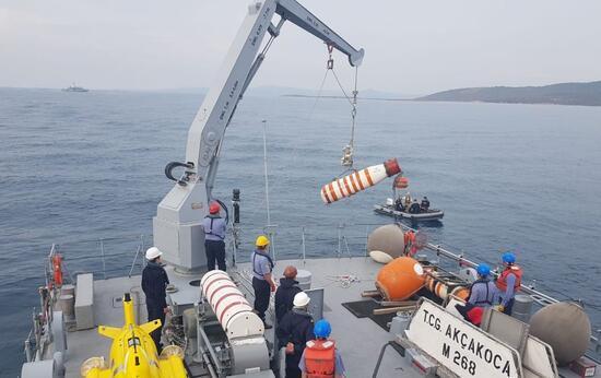MSB görüntüleri paylaştı! Deniz safhası tamamlandı
