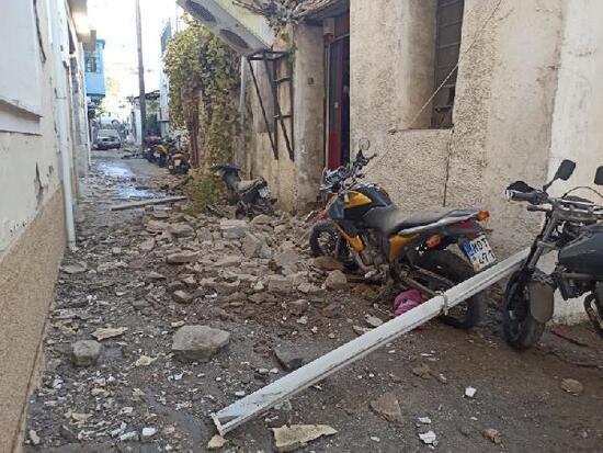 Deprem komşuda da can aldı