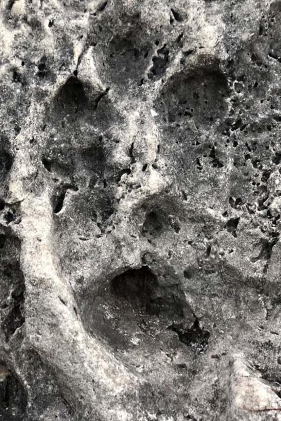 Korkutan görüntü! Sular çekildi, fosil adacıklar oluştu