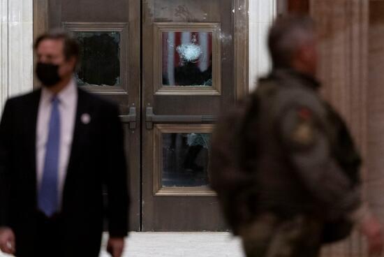 ABD'de Kongre binasına baskın sonrası binadan ilk görüntüler