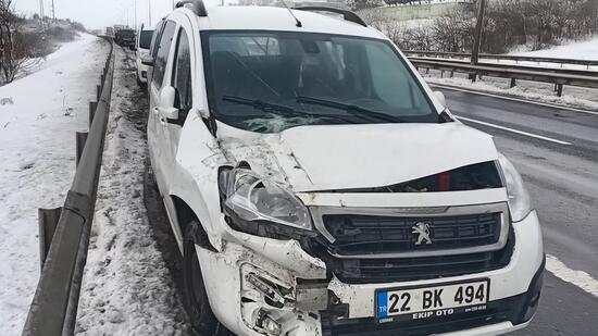 Accident în lanț în Silivri: direcția TEM din Istanbul închisă