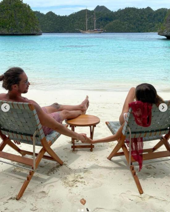 Gündüz deniz gece parti! Şevval Şahin'in bitmeyen Endonezya tatili