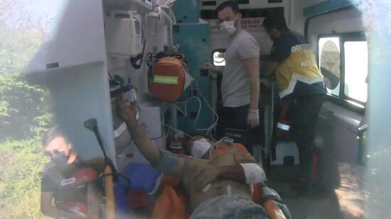Beykoz'da 2 defineci arama yaparken patlayıcıdan yaralandı