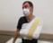 Ambulanstan maske alıp şoförü darbetiiler