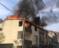 2 binanın çatısı alev alev yandı