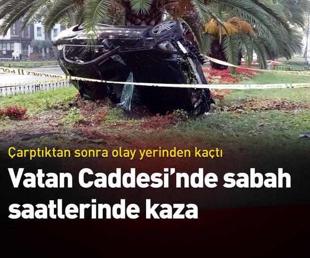 Son dakika: Vatan Caddesi'nde sabah saatlerinde kaza