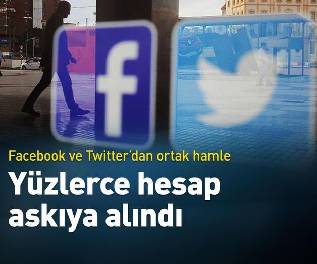 Son dakika: Twitter ve Facebook'tan Hong Kong operasyonu