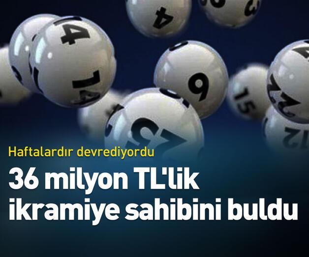 Son dakika: 36 milyon TL'lik ikramiye sahibini buldu