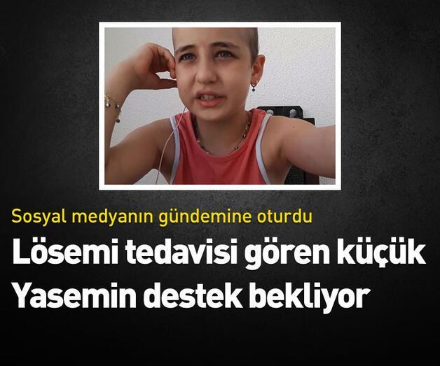Son dakika: 9 yaşındaki Yasemin sosyal medyanın gündeminde