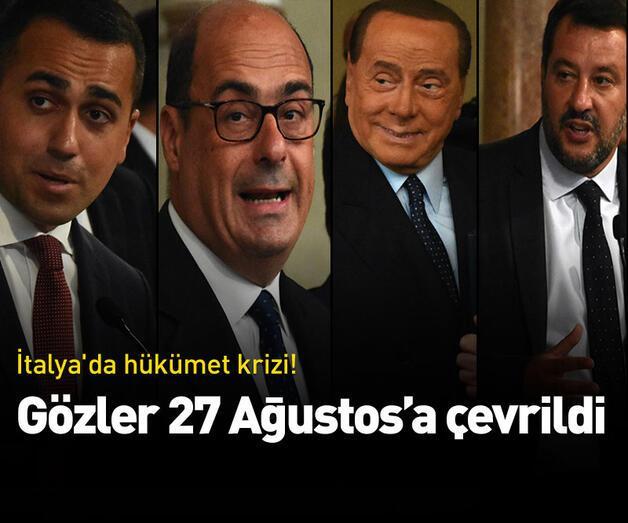 Son dakika: İtalya'da hükümet krizi! 27 Ağustos'ta başlıyor
