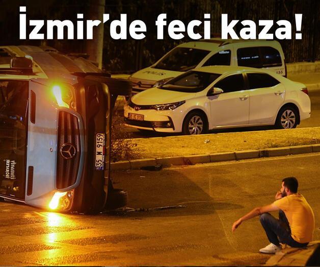 Son dakika: İzmir'de feci kaza: Ölü ve yaralılar var