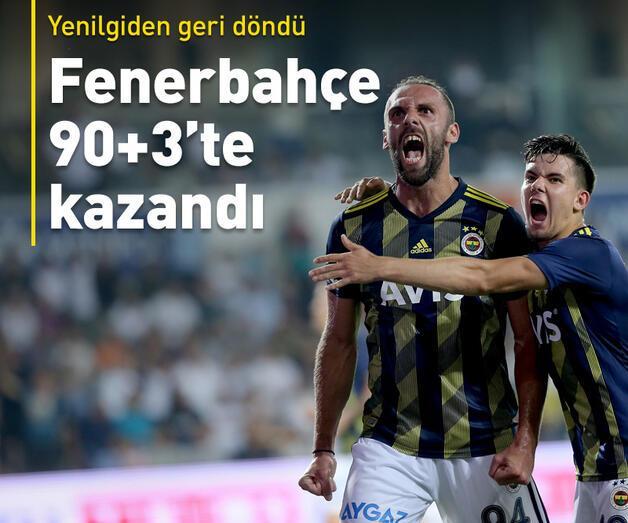 Son dakika: Fenerbahçe 90+3'te kazandı
