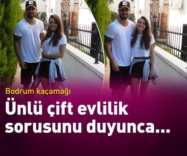Son dakika: Murat Boz-Aslı Enver çifti Bodrum'da aşk tazeledi