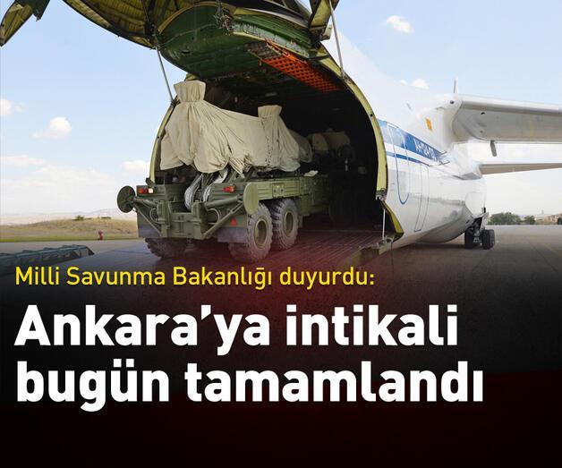 Son dakika: MSB duyurdu!  'Ankara'ya intikali bugün tamamlandı'