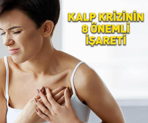 Son dakika: Kalp krizinin 8 önemli işareti!