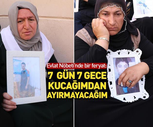 Son dakika: Diyarbakır'da ailelerin evlat nöbeti sürüyor: 7 gün 7 gece kucağımdan ayırmayacağım