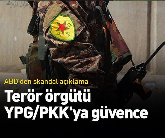 Son dakika: Terör örgütü YPG/PKK ile ilgili ABD'den skandal açıklama