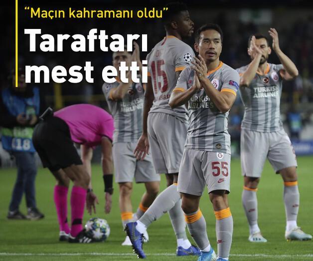 """Son dakika: """"Galatasaray'ın en iyisi oldu"""""""