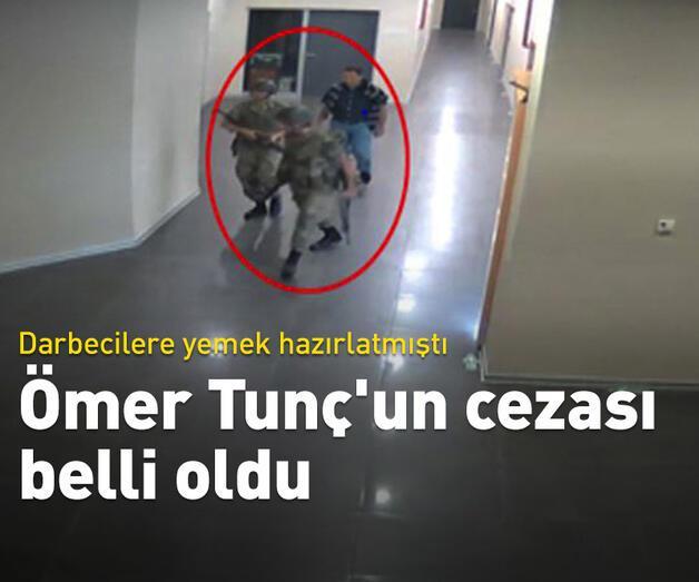 Son dakika: Ömer Tunç'un cezası belli oldu