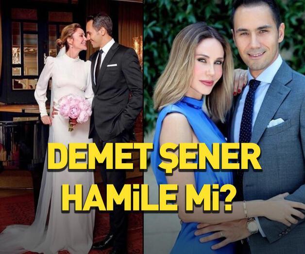Son dakika: Demet Şener hamile mi?
