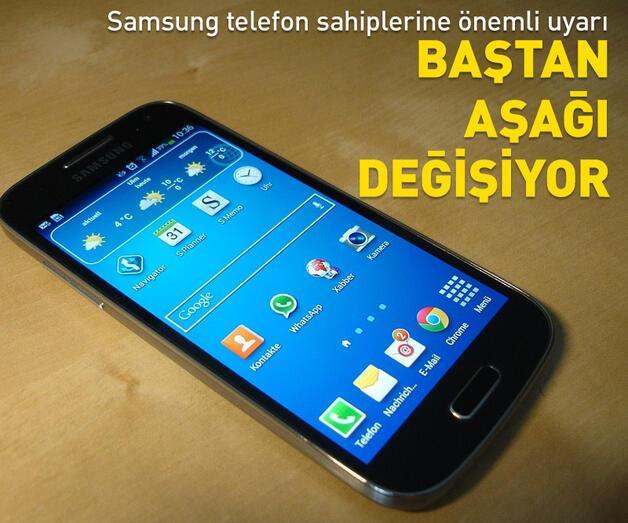 Son dakika: Samsung telefon sahiplerine önemli uyarı!