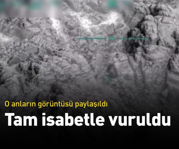 Son dakika: Terör örgütü PKK'nın cephaneliği tam isabetle vuruldu