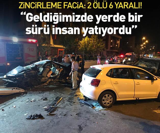 Son dakika: Antalya Muratpaşa'da zincirleme facia! 2 ölü, 6 yaralı!