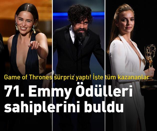 Son dakika: 71. Emmy Ödülleri sahiplerini buldu