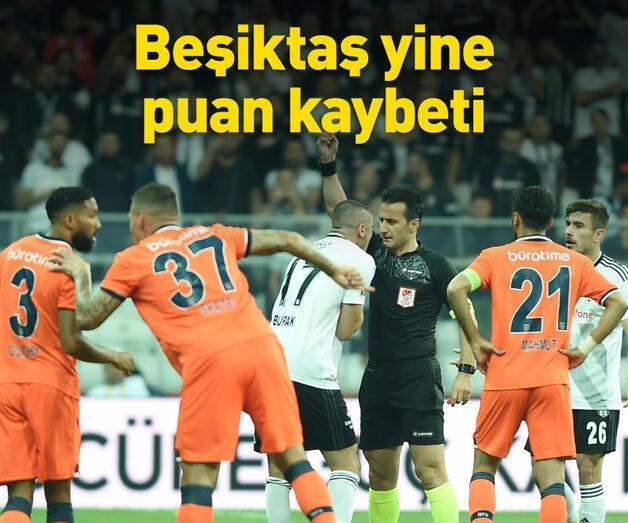 Son dakika: Beşiktaş yine puan kaybetti